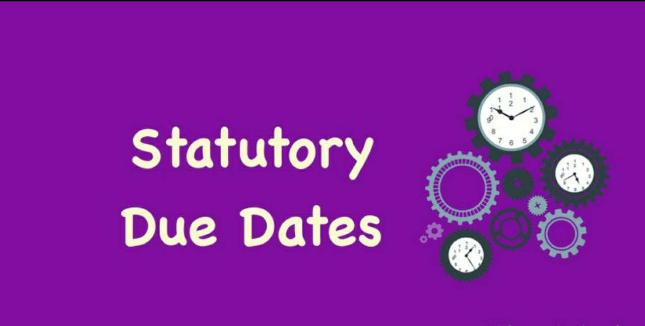 All Statutory Compliance Calendar for September 2020