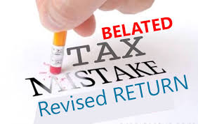 Revised IT Return under Section 139(5) of Income Tax Act